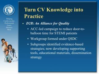 Turn CV Knowledge into Practice