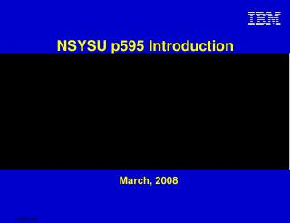 NSYSU p595  Introduction