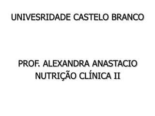 UNIVESRIDADE CASTELO BRANCO