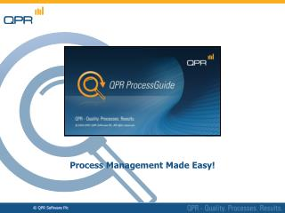 Process Management Made Easy!