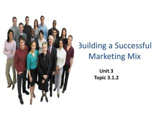 Building a Successful Marketing Mix