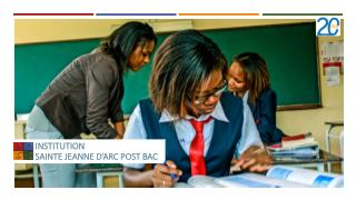INSTITUTION  SAINTE JEANNE D�ARC POST BAC