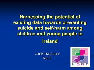 Jacklyn McCarthy  NSRF