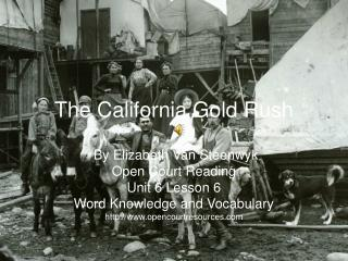 The California Gold Rush