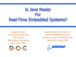 Is Java Ready For  Real-Time Embedded Systems?