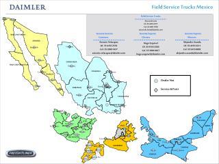 Field Service Trucks Mexico