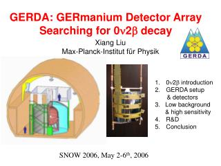 GERDA: GERmanium Detector Array Searching for 0 2  decay