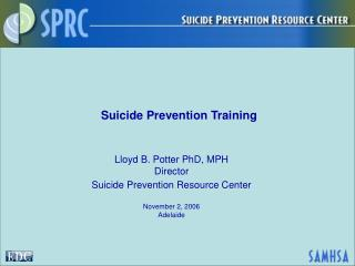 Suicide Prevention Training