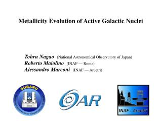 Metallicity Evolution of Active Galactic Nuclei