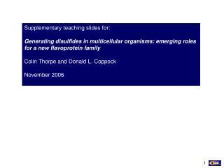 Supplementary teaching slides for: