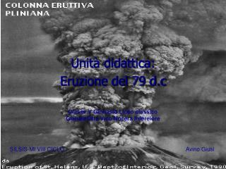 Unità didattica: Eruzione del 79 d.c