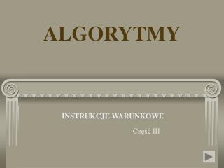 ALGORYTMY