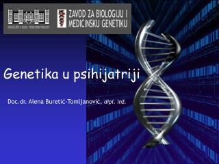 Genetika u psihijatriji