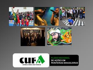 PLANO NACIONAL    DE AÇÕES EM    PERIFERIAS BRASILEIRAS