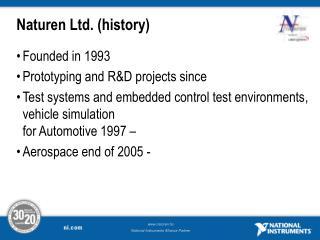 Naturen Ltd. ( history )