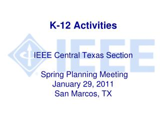 K-12 Activities People