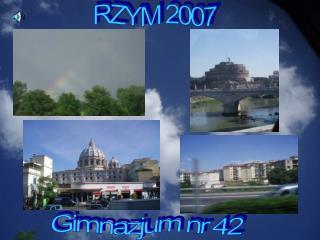 RZYM 2007