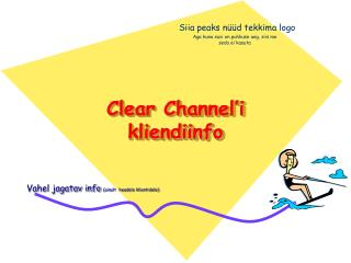 Clear Channel'i kliendiinfo