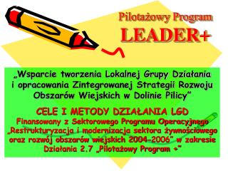 Pilotażowy Program LEADER+