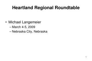 Heartland Regional Roundtable