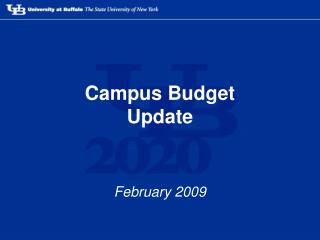 Campus Budget Update