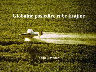 Globalne posledice rabe krajine