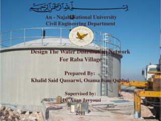 An -  Najah  National University Civil Engineering Department
