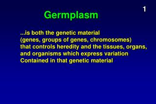 Germplasm