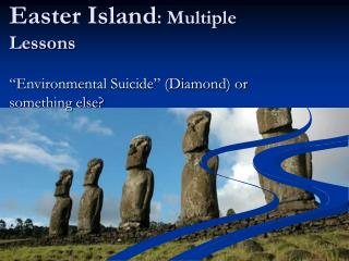 Easter Island : Multiple Lessons