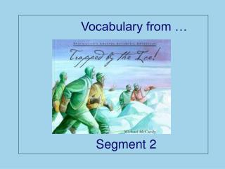 Vocabulary from �