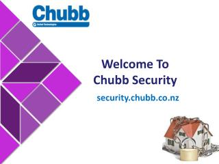 Reliable Security Solutions in New Zealand - Chubb Security