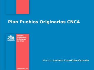 Plan Pueblos Originarios CNCA