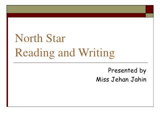 North Star Reading and Writing