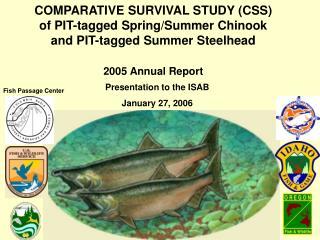 Presentation to the ISAB January 27, 2006
