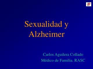 Sexualidad y Alzheimer