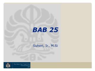 BAB 25