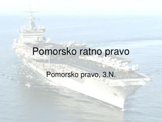 Pomorsko ratno pravo