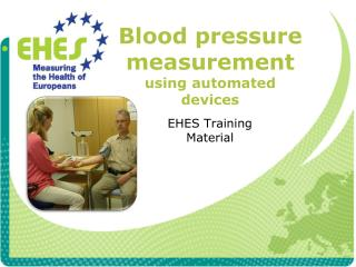 Blood pressure measurement using automated devices
