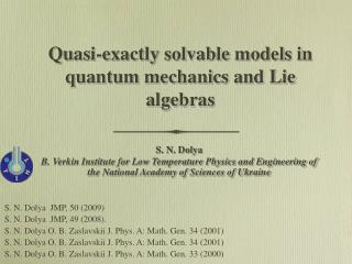 Quasi-exactly solvable models in quantum mechanics and Lie algebras
