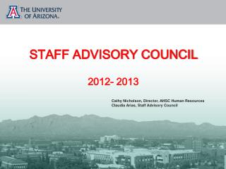 STAFF ADVISORY COUNCIL