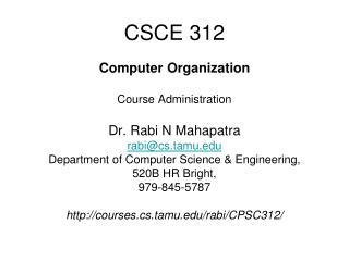 CSCE 312