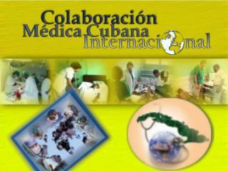 No existen antecedentes de colaboración médica cubana antes de 1959.