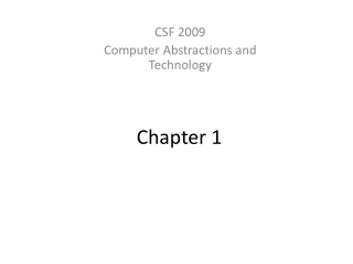 Chapter 1: Introduction to Pervasive Computing