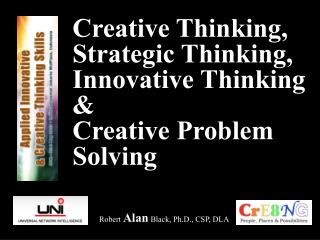 Creative Thinking, Strategic Thinking, Innovative Thinking & Creative Problem Solving