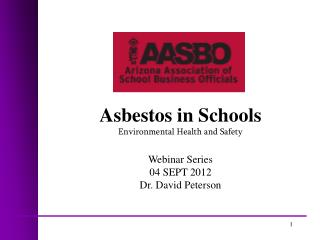 Asbestos in Schools  Environmental Health and Safety