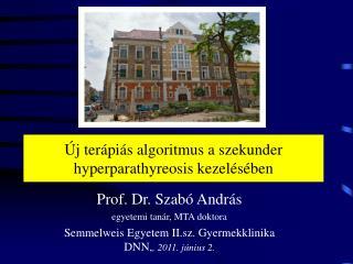 Új terápiás algoritmus a szekunder hyperparathyreosis kezelésében