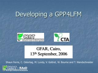 Developing a GPP4LFM
