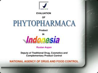 Ruslan Aspan Deputy of Traditional Drug, Cosmetics and  Complementary Product Control