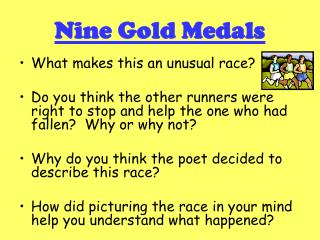 Nine Gold Medals