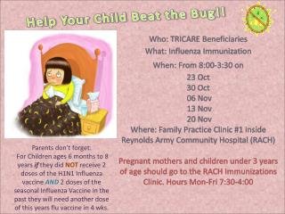 Help Your Child Beat the Bug!!